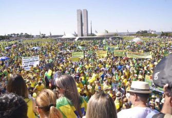 pro-bolsonaro protests