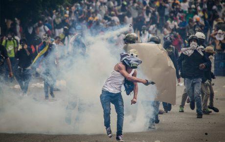 rebellion against maduro in venezuela