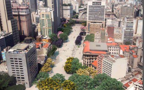 anhangabau The project to revamp downtown São Paulo
