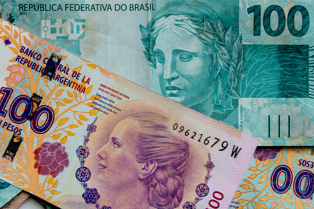 peso real brazil argentina common currency