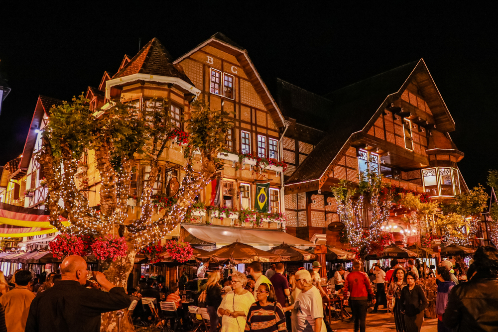 Winter tourism destinations for when Brazil gets chilly Historic City Center of Campos do Jordão at night