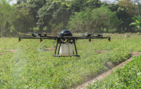 drones pesticides
