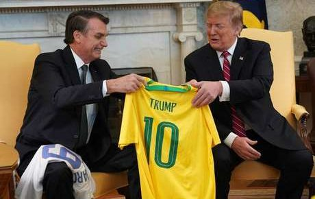 trump bolsonaro trade deal brazil us