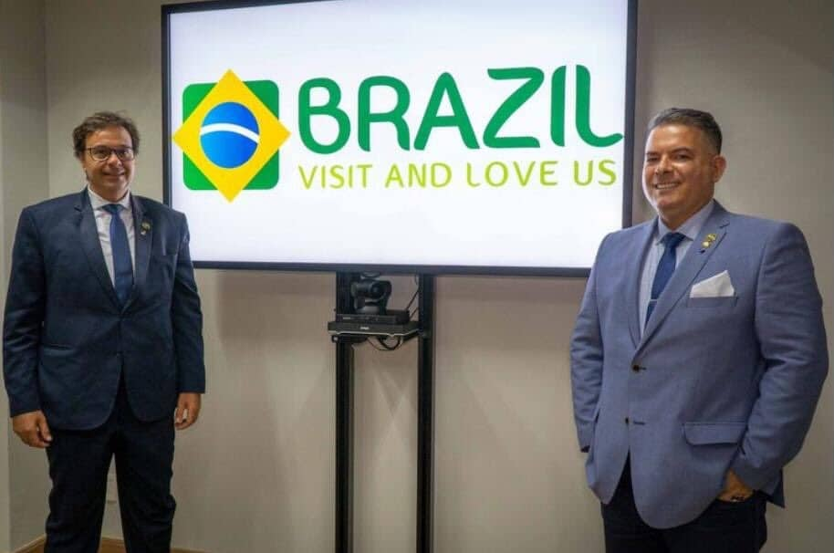 Brazil visit and love us Embratur country branding