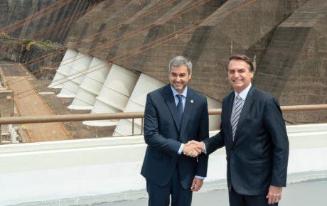 Itaipu Brazil Paraguay Benitez Bolsonaro impeachment dam