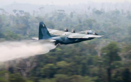 amazon fires brazilian army