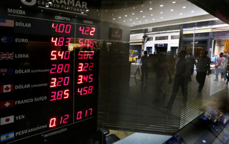 Global slump brings Brazilian currency, stock market down