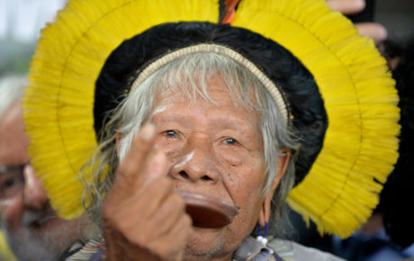 chief raoni brazil indigenous leader