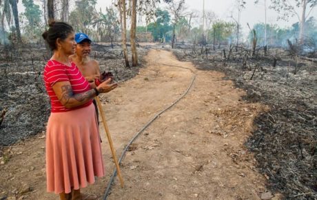 amazon fires hurt indigenous people in brazil