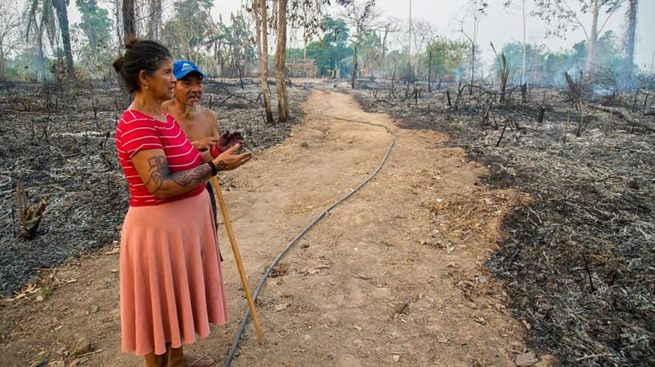 amazon fires hurt indigenous people in brazil
