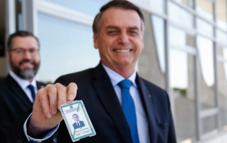bolsonaro popularity down