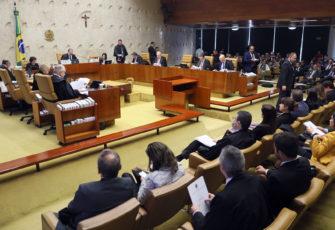 The Brazilian Supreme Court. Photo: Nelson Jr/SCO/STF