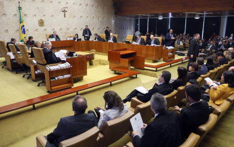 The Brazilian Supreme Court. Photo: Nelson Jr/SCO/STF