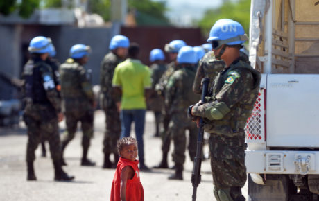brazil peacekeeping forces haiti
