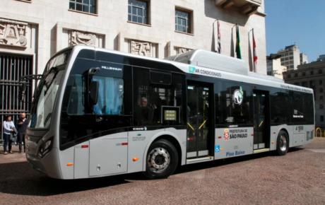 electric buses são paulo