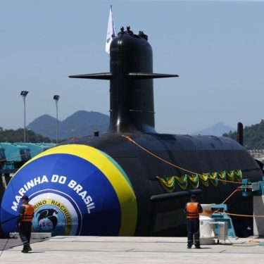 green yellow submarine brazil nuclear submarine