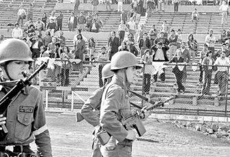 Estadio Nacional Chile Pinochet politics sports