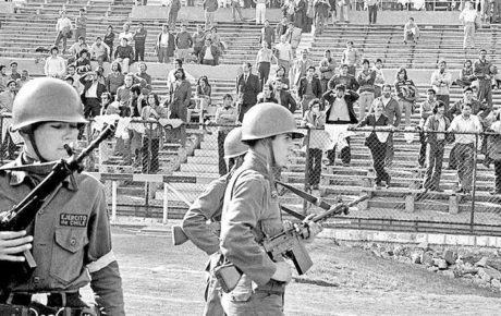 Estadio Nacional Chile Pinochet politics sports