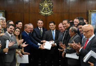 Bolsonaro agenda. Roque de Sá/Agência Senado