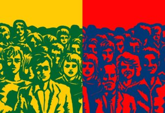 political center brazil polarization