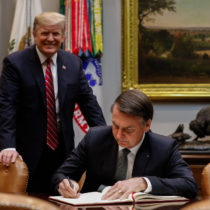 Trump keeps OECD promise to Bolsonaro