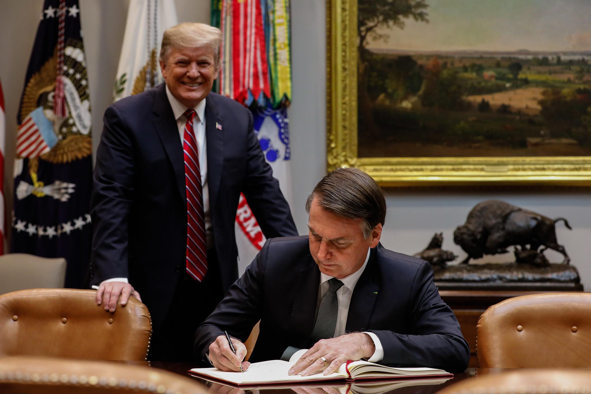 Trump keeps OECD promise to Bolsonaro