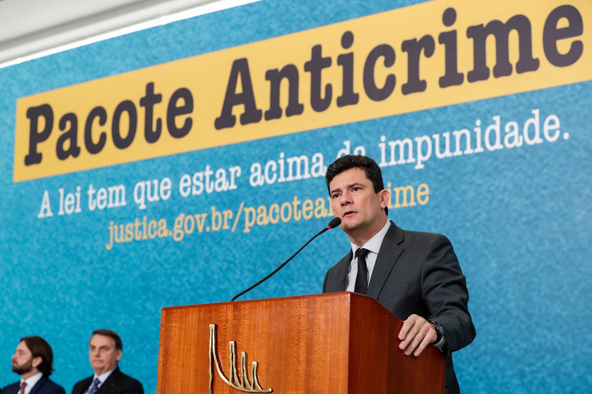 Justice Minister Sergio Moro. Photo: Alan Santos/PR