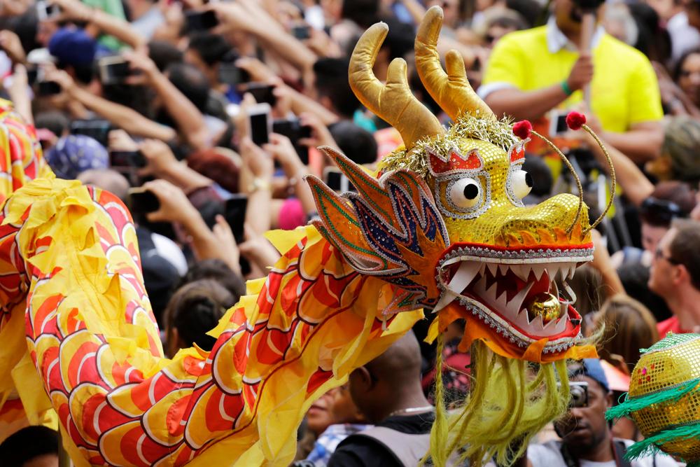 chinatown Chinese New Year celebrations in São Paulo. Photo: N. Antoine