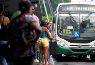 cities Passengers are seen by bus at Salvador's Lapa Station. Photo: Joa Souza
