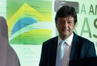 Brazil's Health Minister Luiz Henrique Mandetta