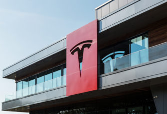 Tesla assembly plant in Tilburg, The Netherlands. Photo: Nadezda Murmakova/Shutterstock