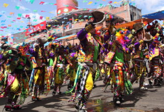 The Oruro Carnival, in Bolivia, is one of the biggest in South America. Photo: Gary Yim/Shutterstock