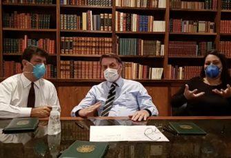 health minister bolsonaro suspends anti-congress protest