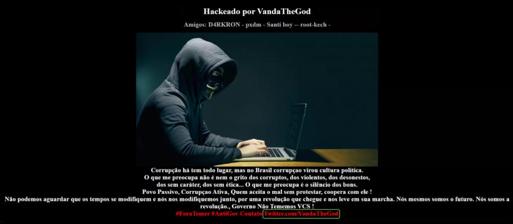 Hackers Vandathegod
