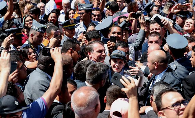 O crescente papel da polícia militar no governo Bolsonaro