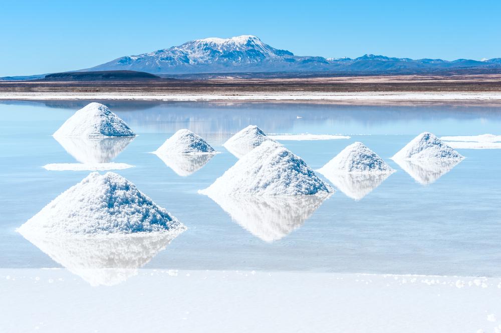 Salar de Uyuni na Bolívia - o maior depósito de lítio do mundo